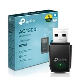 Adaptador USB Tp-Link AC1300 Archer T3U Mu-Mimo Wireless Dual Band Preto CX 1 UN