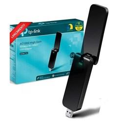 Adaptador USB Tp-Link AC1300 Archer T4U Mu-Mimo Wireless Dual Band Preto CX 1 UN
