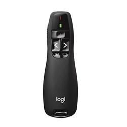 Apresentador Laser Logitech Laser Point R400 Wireless Preto BT 1 UN