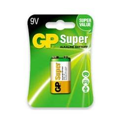 Bateria Alcalina 9v GP Super 6LF22 BT 1 UN