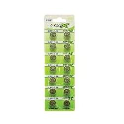 Bateria Botão Flex FX-LR44 AG13 1.5V Prata BT 1 UN
