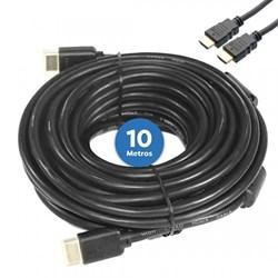Cabo HDMI 1.4 Dex HM10 Full HD c/ Filtro 10 Metros Preto BT 1 UN