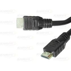 Cabo HDMI 1.4 Exbom CBX-N10SM 3D 1 Metro Preto PT 1 UN