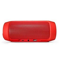 Caixa de Som Bluetooth A8S 3296 Portátil 3W Vermelho CX 1 UN
