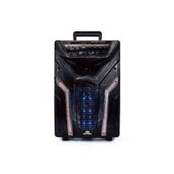 Caixa de Som Bluetooth Sumay Elegance SM CAP13E Microf/Rádio/USB 100W Preto CX 1 UN