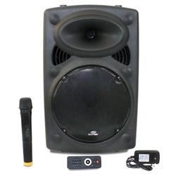 Caixa de Som Bluetooth Sumay Infinity SM CAP08i USB/Microf/SD/Rádio FM 300W Preto CX 1 UN