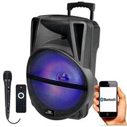 Caixa de Som Bluetooth Sumay Primus 500BT SM CAP16P USB/Microf/SD/RádioFM 250W Preto CX 1 UN
