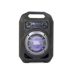 Caixa de Som Sumay Gallon Music SM CSP1302 Bluetooth 30W RMS USB/USB/FM/SD Preto e Cinza CX 1 UN