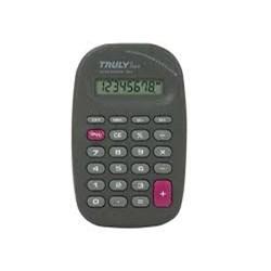 Calculadora de Bolso Truly 318A -  8 Dígitos Bateria Preto BT 1 UN
