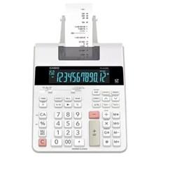 Calculadora de Mesa c/ Bobina Casio FR-2650T-WR - 12 Dígitos 220V Branco CX 1 UN