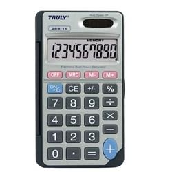 Calculadora de Mesa Truly 289 - 10 Dígitos Solar/Bateria Cinza CX 1 UN