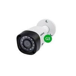 Câmera CFTV Bullet Infravermelho Intelbras VHD 3120B G3 Multi HD 720p Lente 2.6mm 20M - 4565228 Branco CX 1 UN