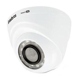 Câmera CFTV Dome Infravermelho Intelbras VHD 1220D G4 Full HD 1080p Lente 2.8mm 20M - 4565267 Branco CX 1 UN