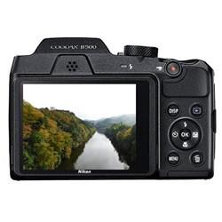 Câmera Digital Nikon Coolpix B500 16MP Zoom óptico de 40x Tela 3'' WIFI Preta CX 1 UN