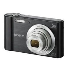 Câmera Digital Sony DSC-W800 Preta CX 1 UN