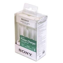 Carregador de Pilhas Sony BCG-34HHU - USB s/ Pilhas AA/AAA Branco 1 UN
