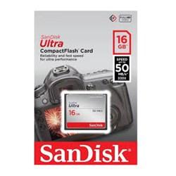 Cartão de Memória 16GB Compact Flash Sandisk  Ultra SDCFHS-016G-G46 Speed 50MB/s BT 1 UN