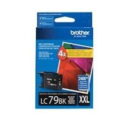Cartucho de Tinta Brother LC79BK XXL Preto Original 54ml CX 1 UN