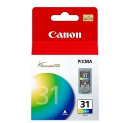 Cartucho de Tinta Canon CL-31 Color Original 9ml CX 1 UN
