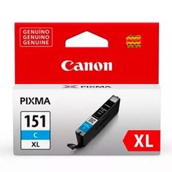 Cartucho de Tinta Canon CLI 151C XL - 6478B001AA Ciano Original 11ml Alto Rendimento CX 1 UN