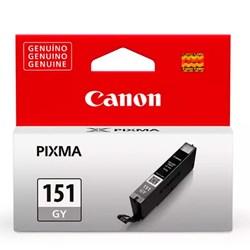 Cartucho de Tinta Canon CLI 151GY - 6532B001AA Cinza Original 7ml CX 1 UN