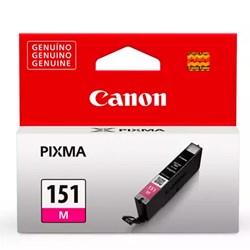 Cartucho de Tinta Canon CLI 151M - 6530B001AA Magenta Original 7ml CX 1 UN
