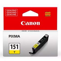 Cartucho de Tinta Canon CLI 151Y - 6531B001AA Amarelo Original 7ml CX 1 UN