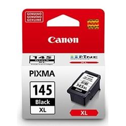 Cartucho de Tinta Canon PG-145BK XL Preto Original 12ml CX 1 UN