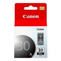 Cartucho de Tinta Canon PG-30 Preto Original 11ml CX 1 UN