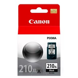 Cartucho de Tinta Canon PG210XL Preto Original 15ml CX 1 UN