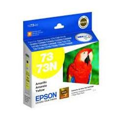 Cartucho de Tinta Epson T073420BR Amarelo Original 5ml CX 1 UN