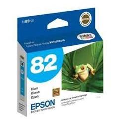 Cartucho de Tinta Epson T082220 Azul Original 7ml CX 1 UN