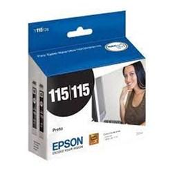 Cartucho de Tinta Epson T115126BR DUPLO Preto Original 22ml CX 2 UN