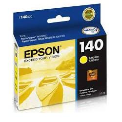 Cartucho de Tinta Epson T140420AL Amarelo Original 10ml CX 1 UN