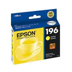 Cartucho de Tinta Epson T196420BR Amarelo Original 4ml CX 1 UN