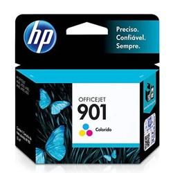 Cartucho de Tinta HP 901 Color CC656AB Original 13ml CX 1 UN