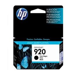 Cartucho de Tinta HP 920 Preto CD971AL Original 11ml CX 1 UN