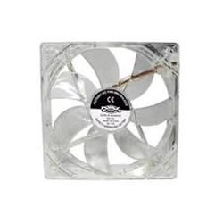 Cooler Fan Dex DX-12L 12X12 c/ LED Transparente CX 1 UN
