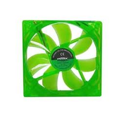 Cooler Fan Dex DX12L 12x12 c/ LED Verde CX 1 UN