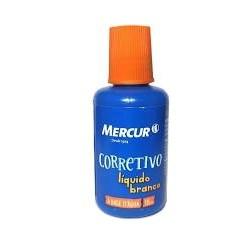 Corretivo Líquido Mercur BO1010903001 á Base D´Água 18ML 1 UN