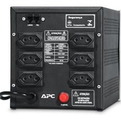 Estabilizador 1500VA APC Sol 1500UP Net NN - 9100700021 Pro Ent Biv Saida 115V  6 Tom Preto CX 1 UN