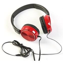 Fone de Ouvido c/ Microf Havit HV-H2178D Plug 3,5mm Vermelho CX 1 UN