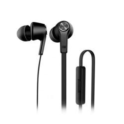 Fone de Ouvido com Microf Inta Auricular Xiaomi Mi Basic ZBW4354TY Preto CX 1 UN