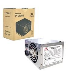Fonte ATX 200W C3Tech PS-200V2 Cinza CX 1 UN