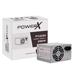 Fonte ATX 230W PowerX PX230 com Cabo Biv Manual CX 1 UN