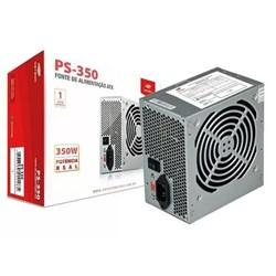 Fonte ATX 350W C3Tech PS-350 405010830100 s/ Cabo Cinza CX 1 UN