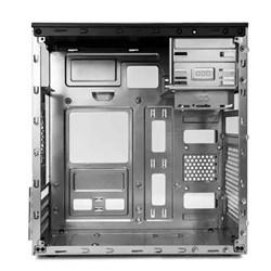 Gabinete C3plus MT-23V2BK Basic c/ Fonte 200W Preto CX 1 UN