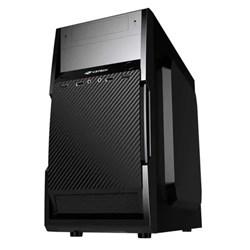 Gabinete C3Tech MT-25V2BK Micro ATX 2 Baias c/ Fonte 200W Preto CX 1 UN