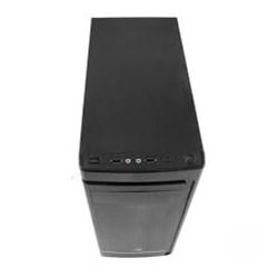 Gabinete C3Tech MT-41BK 1 Baia USB Micro ATX c/ Fonte 22W CX 1 UN