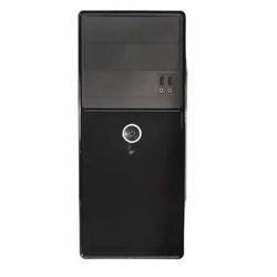 Gabinete K-Mex GX23R9 Basic 2 Baias c/ Fonte 200W Black Piano CX 1 UN